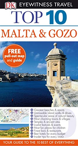 9781405339780: DK Eyewitness Top 10 Travel Guide: Malta & Gozo [Idioma Inglés]