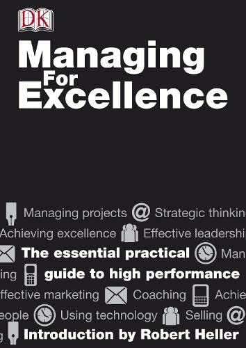 9781405341561: Managing For Excellence