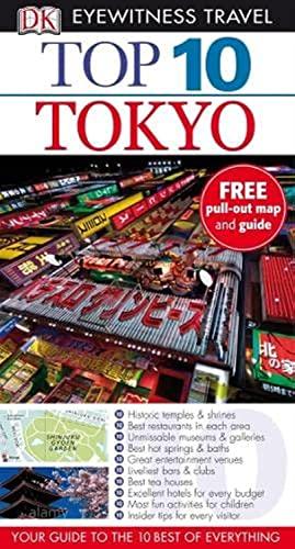DK Eyewitness Top 10 Travel Guide: Tokyo: Stephen Mansfield