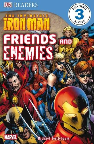 9781405350105: The Invincible Iron Man Friends and Enemies (DK Readers Level 3)