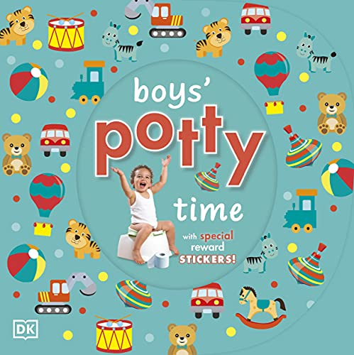 9781405352550: Boys' Potty Time (Dk)