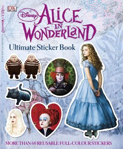 9781405352710: Alice in Wonderland Ultimate Sticker Book