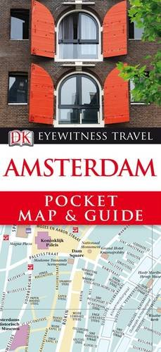 9781405352949: Amsterdam Pocket Map and Guide (DK Eyewitness Travel Guide)