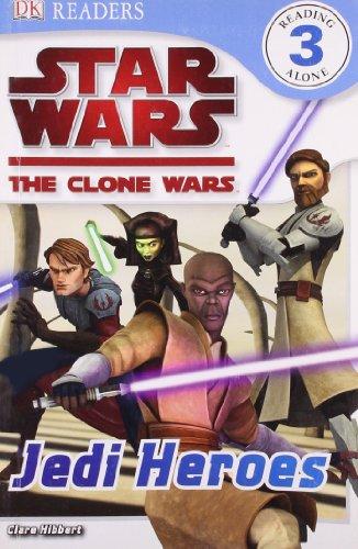 9781405354097: Star Wars Clone Wars Jedi Heroes (DK Readers Level 3)