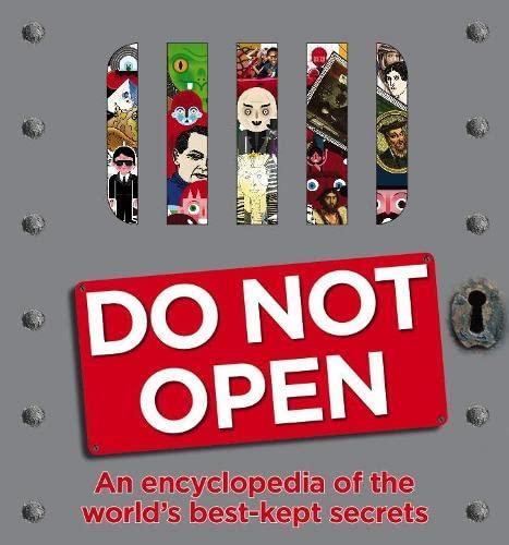 9781405356534: Do Not Open