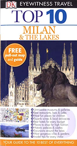 9781405358156: Top 10 Milan & the Lakes (DK Eyewitness Travel Guide)