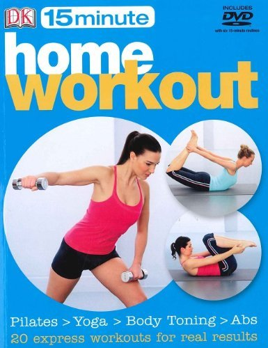9781405361040: 15 Minute Home Workout: Pilates > Yoga > Body Toning > Abs (Includes DVD)