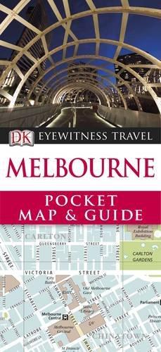 9781405361149: Melbourne: Eyewitness Travel Pocket Map and Guide