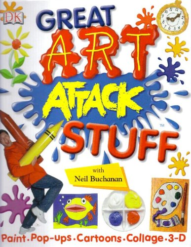 9781405361187: DK: Great art attack stuff