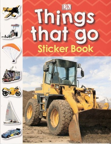 9781405361453: Things That Go Sticker Book