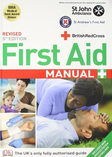 9781405362146: First Aid Manual: The Authorised Manual of St. John Ambulance, St. Andrew's Ambulance Association and the British Red Cross.