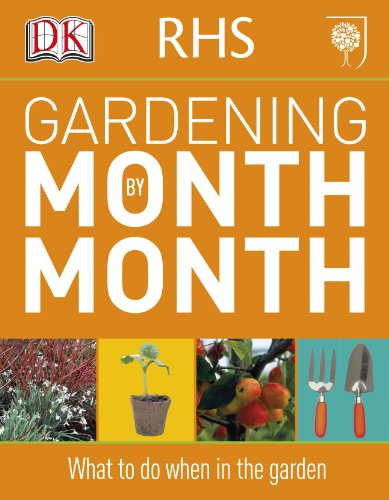 9781405363051: Gardening Month By Month. New Edition (Rhs)