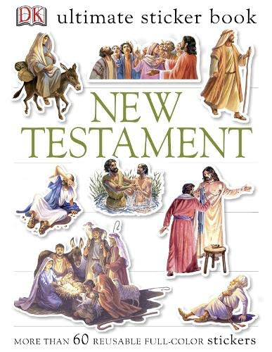 9781405363358: New Testament Ultimate Sticker Book