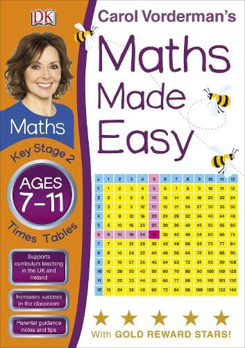 9781405363426: Carol Vorderman's Maths Made Easy, Ages 7-11: Key Stage 2, Times Tables