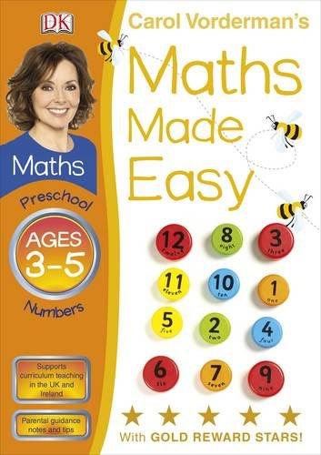 9781405363594: Carol Vorderman's Maths Made Easy, Ages 3-5: Preschool Numbers