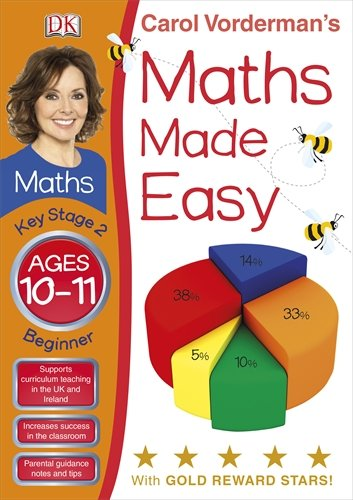 9781405363655: Carol Vorderman's Maths Made Easy, Ages 10-11: Key Stage 2, Beginner