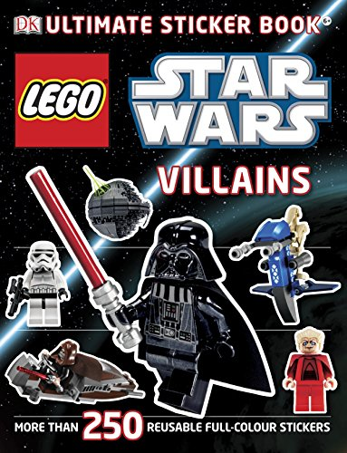 9781405364393: Lego Star Wars Villains Ultimate Sticker Book (Ultimate Stickers)