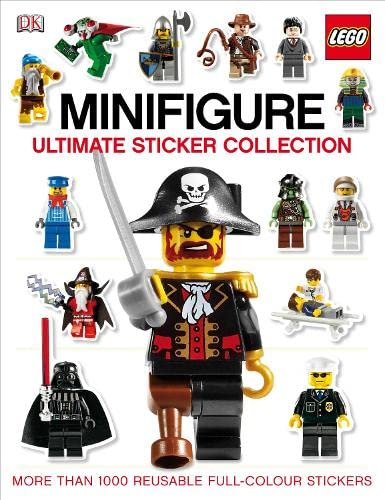 9781405367110: Lego Minifigure Ultimate Sticker Collection