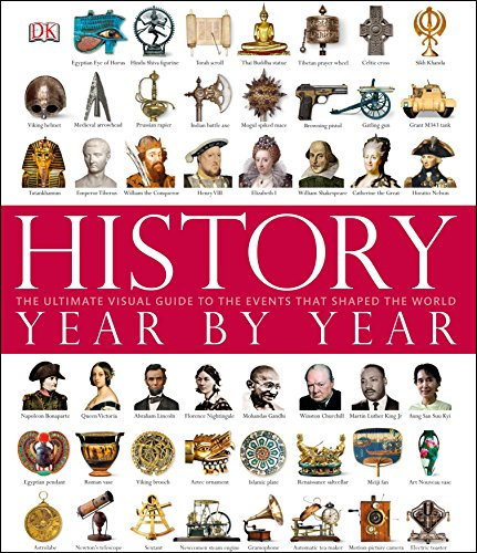 9781405367127: History Year By Year (Dk)