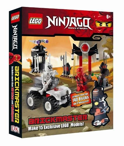 9781405367769: LEGO Ninjago Brickmaster