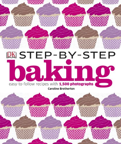 9781405368230: Step-by-Step Baking: Easy-to-Follow Recipes with 1,500 Photographs