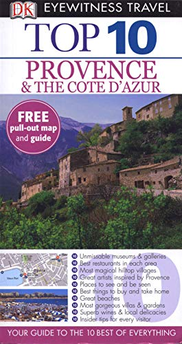 9781405369084: DK Eyewitness Top 10 Travel Guide: Provence & the Cote d'Azur