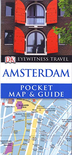 Amsterdam Pocket Map and Guide (DK Eyewitness: Collectif