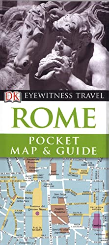 9781405370097: DK Eyewitness Pocket Map and Guide: Rome