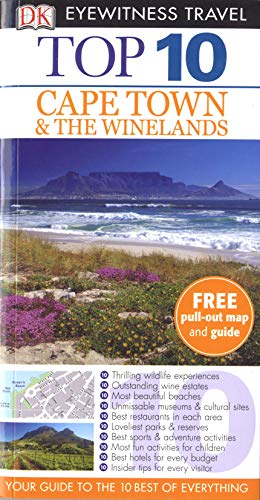 9781405370387: DK Eyewitness Top 10 Travel Guide: Cape Town and the Winelands
