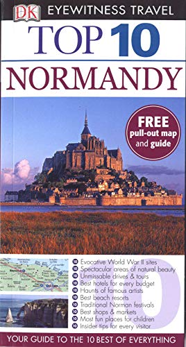 9781405370400: DK Eyewitness Top 10 Travel Guide: Normandy