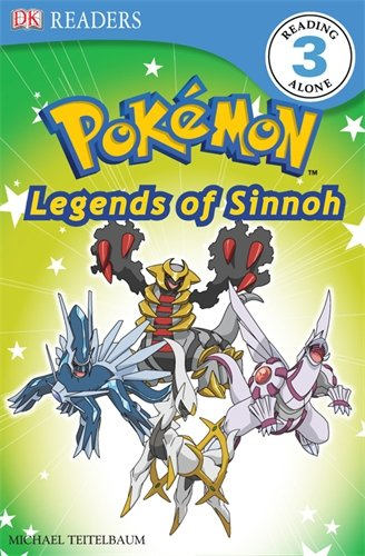 9781405371889: Discover Sinnoh's Legendary Pokmon. (DK Readers Level 3)