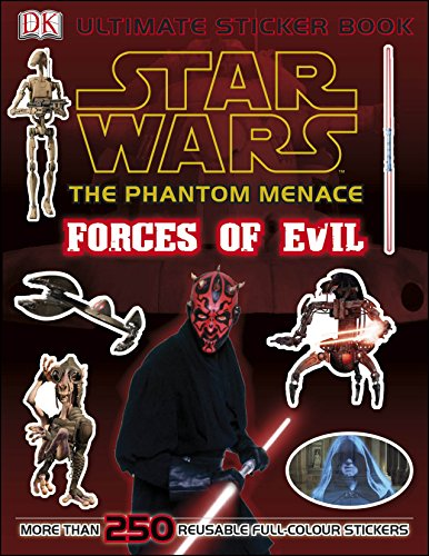 9781405391269: Star Wars The Phantom Menace Ultimate Sticker Book Forces of Evil (Ultimate Stickers)