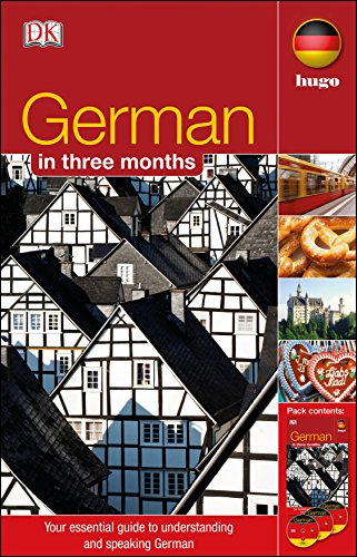 9781405391566: German in 3 Months. (Hugo in 3 Months)