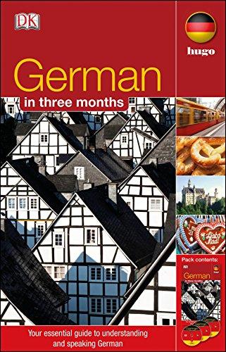 9781405391566: German in 3 Months.