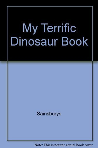 My Terrific Dinosaur Book: Sainsburys