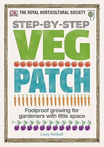 9781405394437: Rhs Step-By-Step Veg Patch