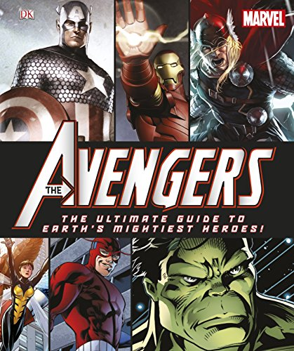 9781405394512: The Avengers The Ultimate Guide to Earth's Mightiest Heroes!
