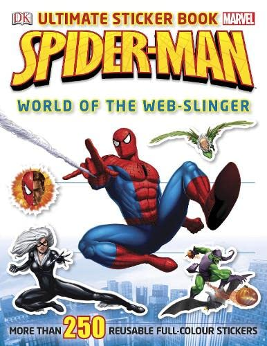 9781405394543: Spider-Man Ultimate Sticker Book World of the Web-Slinger (Ultimate Stickers)