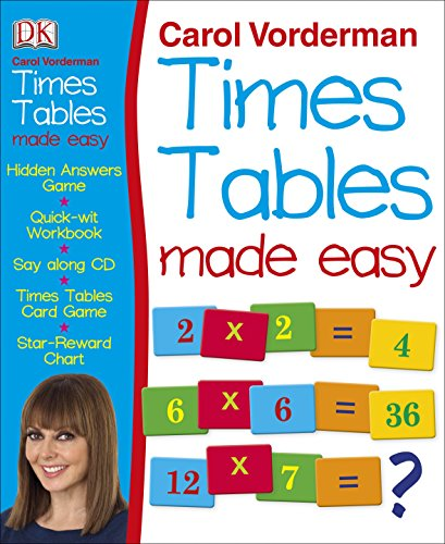 9781405394673: Carol Vorderman's Times Tables Made Easy