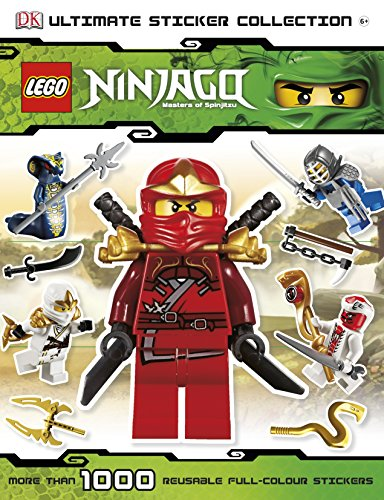 9781405398251: Lego Ninjago Ultimate Sticker Collection (Ultimate Stickers)