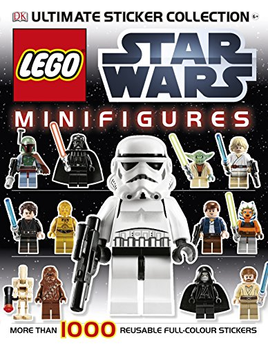 9781405398268: Lego Star Wars Minifigures Ultimate Sticker Collection (Ultimate Stickers)