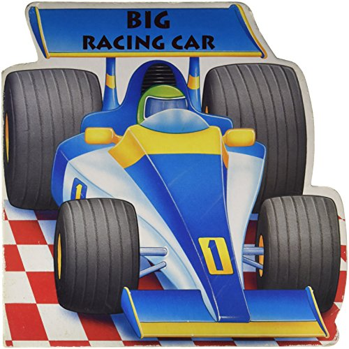 9781405405126: Big Racing Car (Boardbook)