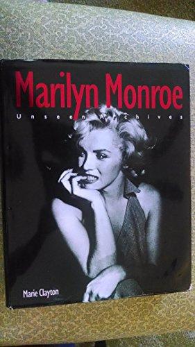 9781405413404: Marilyn Monroe: Unseen Archives