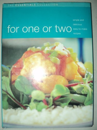 9781405420228: For One or Two (Essentials Collection Cooking)