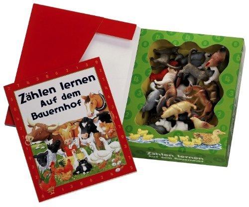 9781405421058: Zählen lernen - auf dem Bauernhof
