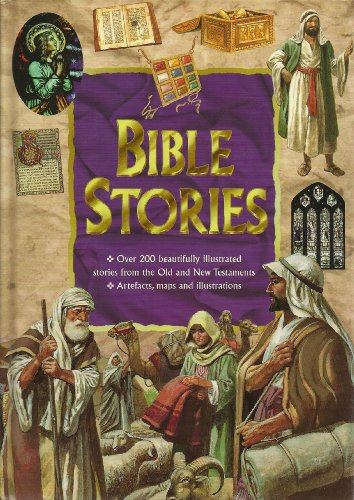 Bible Stories: Over 200 Beautifully Illustrated Stories From the Old and New Testaments: Martin ...