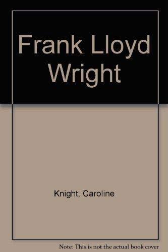 9781405429757: Frank Lloyd Wright