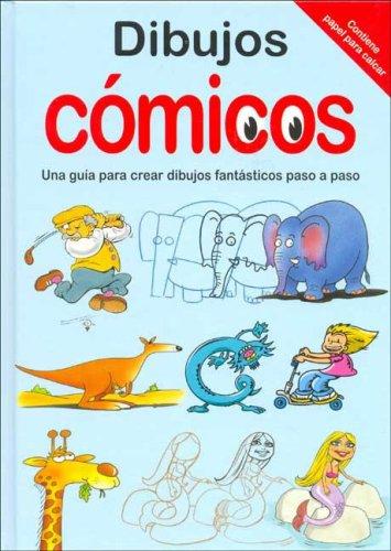 9781405433082: Dibujos comicos - guia para crear dibujos fantasticos paso a paso