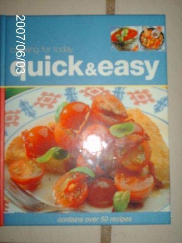 9781405436243: Quick & Easy: Cooking for Today