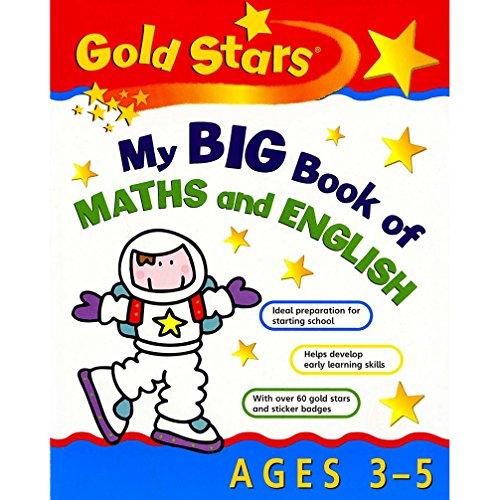 9781405438445: My Big Book of Maths/English 3-5 (Gold Stars Bumper)